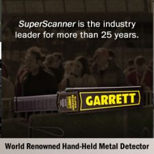 Garrett Super Scanner® V Hand-Held Metal Detector