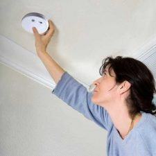 Kidde Battery Operated Smoke Alarm with Hush™  I9060