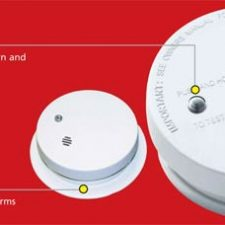 "Kidde Fire Sentry™ Battery Operated 4"" Smoke Alarm  I9040"