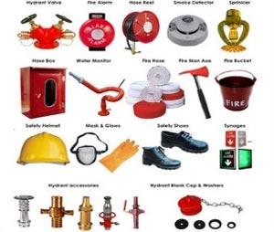 Komponen fire hydrant system