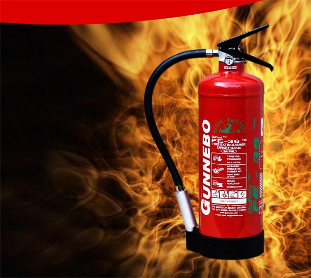 Alat Pemadam Api Gunnebo