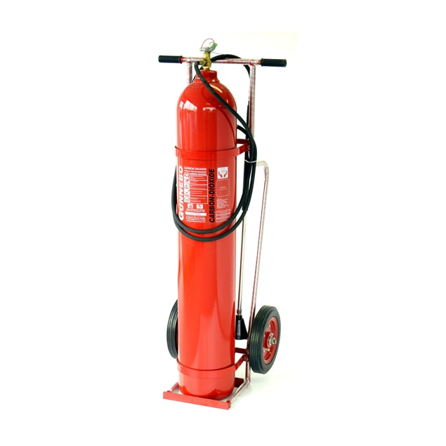 Gunnebo Carbon Dioxide CO2 Trolley Unit CT-9