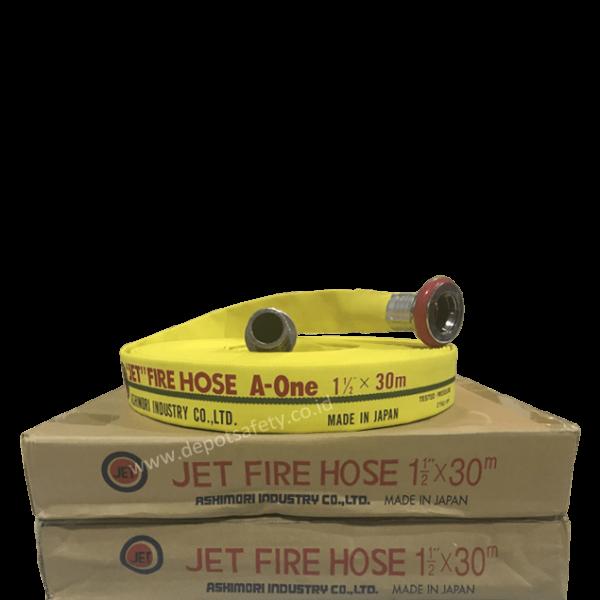 Ashimori JET FIRE HOSE A-ONE 1.5 Yellow