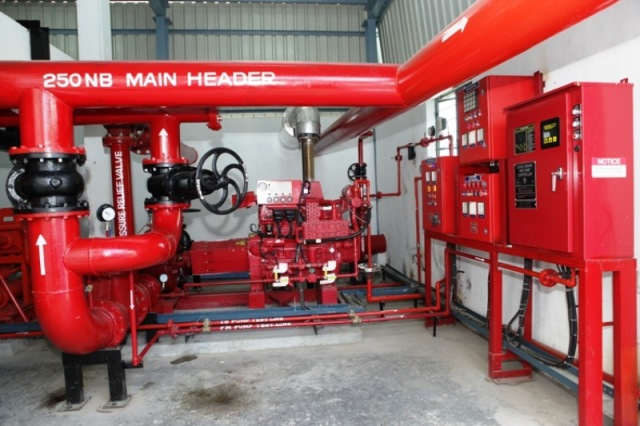Contoh Fire Hydrant System