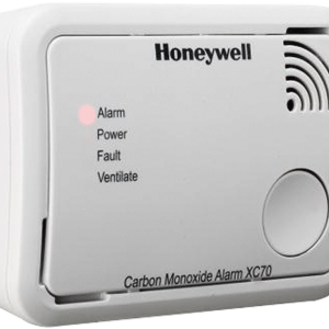 X Series battery-operated carbon monoxide alarm