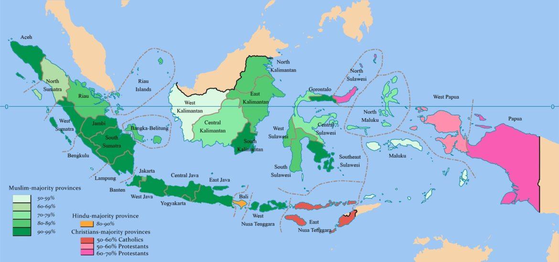 Daftar nama kota di Indonesia menurut provinsi