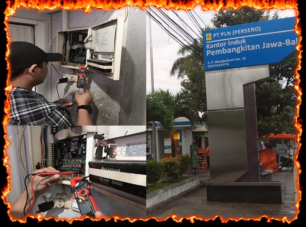 INSTALASI PEMASANGAN FIRE ALARM SYSTEM - PLN ( Persero ) KANTOR INDUK PEMBANGKITAN JAWA - BALI