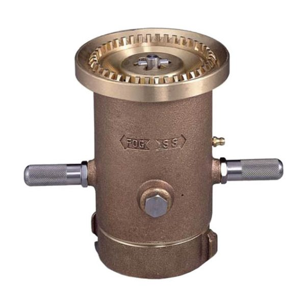 Low-Range Adjustable Flow-Baffle Monitor Nozzle Style 822-BC