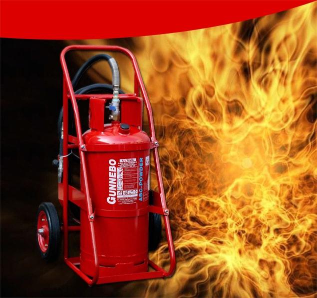 Alat Pemadam Api Trolley Gunnebo